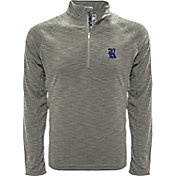 Levelwear Men's Penn State Nittany Lions Grey Mobility Long Sleeve Quarter-Zip Shirt