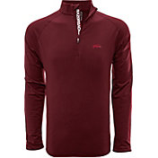 Levelwear Men's Alabama Crimson Tide Crimson Metro Quarter-Zip Pullover