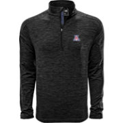 Levelwear Men's Arizona Wildcats Grey Armour Quarter-Zip Shirt