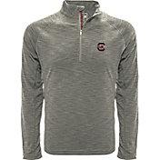 Levelwear Men's Rice Owls Grey Mobility Long Sleeve Quarter-Zip Shirt