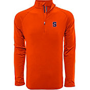 Levelwear Men's Syracuse Orange Blue Metro Quarter-Zip Pullover