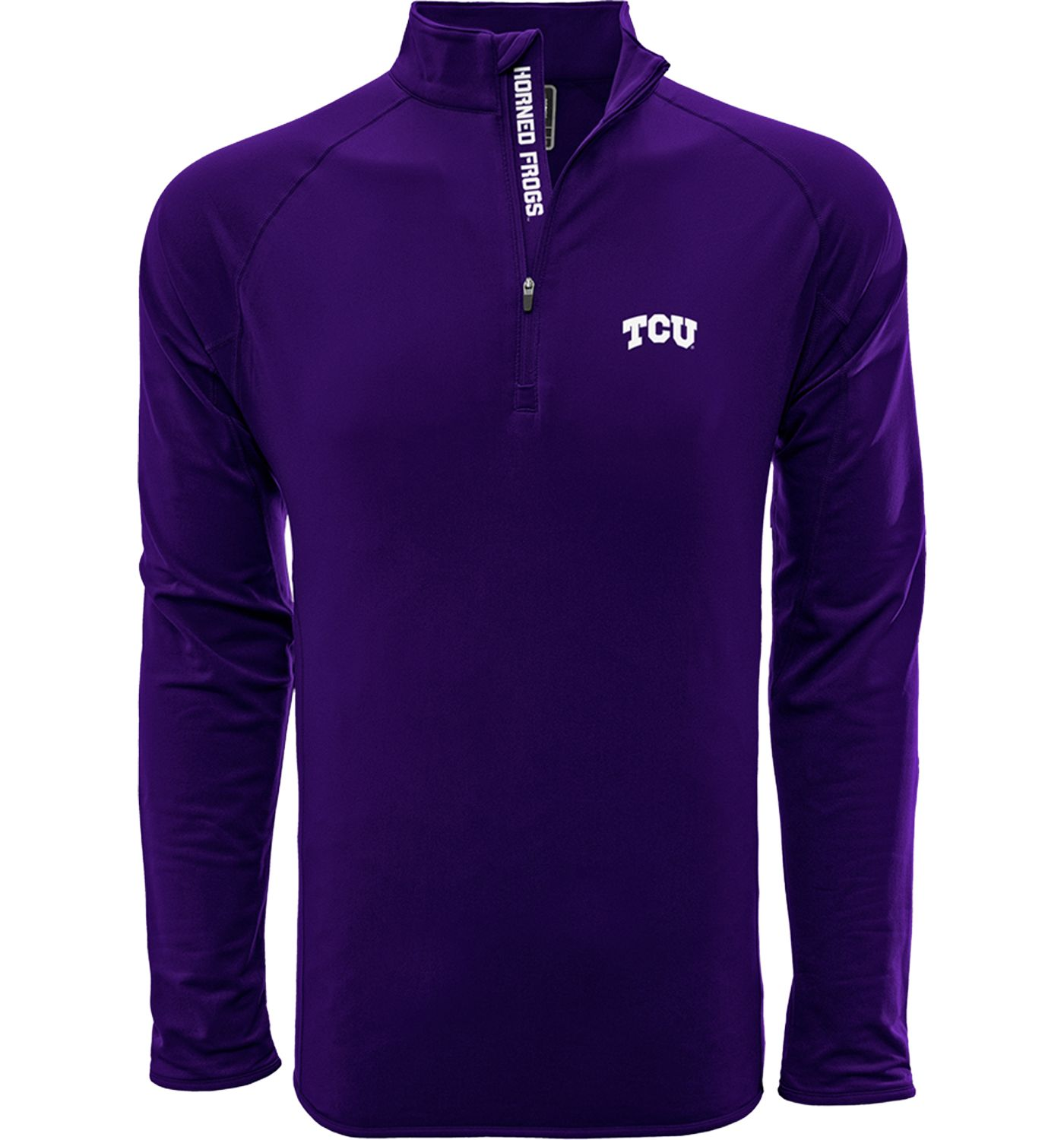 Levelwear Men's TCU Horned Frogs Purple Metro Quarter-Zip Pullover