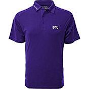 Levelwear Men's TCU Horned Frogs Purple Tactical Polo