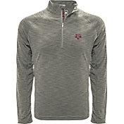 Levelwear Men's Texas A&M Aggies Grey Mobility Long Sleeve Quarter-Zip Shirt