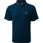 Levelwear Men's Virginia Tech Hokies Maroon Tactical Polo