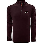 Levelwear Men's Virginia Tech Hokies Maroon Metro Quarter-Zip Pullover