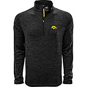 Levelwear Men's Iowa State Cyclones Grey Armour Quarter-Zip Shirt