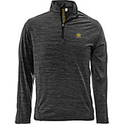 Levelwear Men's Wichita State Shockers Grey Armour Quarter-Zip Shirt