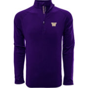 Levelwear Men's Washington Huskies Purple Metro Quarter-Zip Pullover
