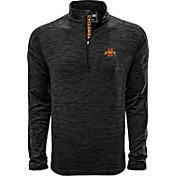 Levelwear Men's Iowa Hawkeyes Grey Armour Quarter-Zip Shirt