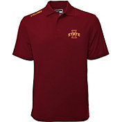 Levelwear Men's Iowa State Cyclones Maroon Helium Polo