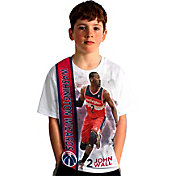 Levelwear Youth Washington Wizards John Wall Breakaway White T-Shirt