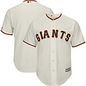 Majestic Boys' Replica San Francisco Giants Cool Base Home Ivory Jersey