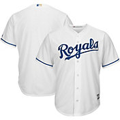 Majestic Boys' Replica Kansas City Royals Cool Base Home White Jersey