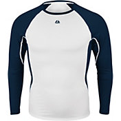 Majestic Men's Premier Warrior Fitted Long Sleeve Baselayer