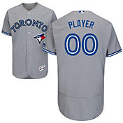 Majestic Men's Full Roster Authentic Toronto Blue Jays Flex Base Road Grey On-Field Jersey