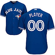 Majestic Men's Full Roster Cool Base Replica Toronto Blue Jays Alternate Royal Jersey