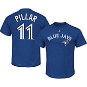 Majestic Men's Toronto Blue Jays Kevin Pillar #11 Royal T-Shirt
