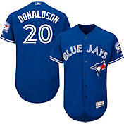 Majestic Men's Authentic Toronto Blue Jays Josh Donaldson #20 Alternate Royal Flex Base On-Field Jersey