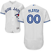 Majestic Men's Full Roster Authentic Toronto Blue Jays Flex Base Home White On-Field Jersey
