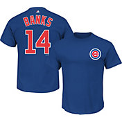 Majestic Men's Chicago Cubs Ernie Banks #14 Royal T-Shirt
