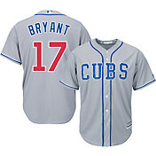 b932b899c Product Image · Majestic Men s Replica Chicago Cubs Kris Bryant  17 Cool  Base Alternate Road Grey Jersey