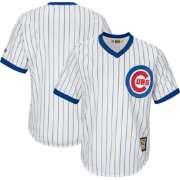 Majestic Men's Replica Chicago Cubs Cool Base White Cooperstown Jersey