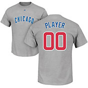 Majestic Men's Full Roster Chicago Cubs Grey T-Shirt
