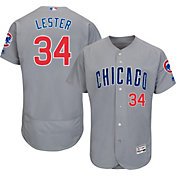 d970ad191a1 Product Image · Majestic Men s Authentic Chicago Cubs Jon Lester  34 Road  Grey Flex Base On-Field