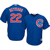 Majestic Men's Replica Chicago Cubs Jason Heyward #22 Cool Base Alternate Royal Jersey