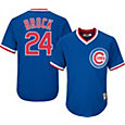 Majestic Men's Replica Chicago Cubs Lou Brock Cool Base Royal Cooperstown Jersey
