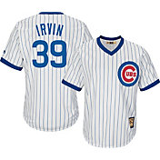 Majestic Men's Replica Chicago Cubs Monte Irvin Cool Base White Cooperstown Jersey