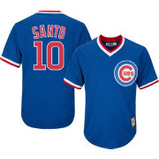 Majestic Men's Replica Chicago Cubs Ron Santo Cool Base Royal Cooperstown Jersey