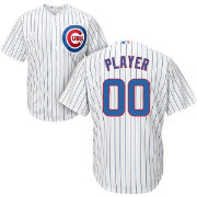 Majestic Men's Full Roster Cool Base Replica Chicago Cubs Home White Jersey