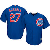 Majestic Men's Replica Chicago Cubs Addison Russell #27 Cool Base Alternate Royal Jersey