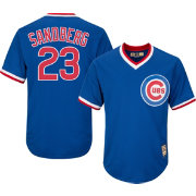 Majestic Men's Replica Chicago Cubs Ryne Sandberg Cool Base Royal Cooperstown Jersey