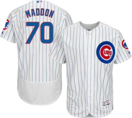 efccbecf3 Majestic Men s Authentic Chicago Cubs Joe Maddon  70 Home White Flex Base  On-Field Jersey. noImageFound