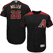 Majestic Men's Authentic Arizona Diamondbacks Shelby Miller #26 Alternate Black Flex Base On-Field Jersey