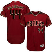 Majestic Men's Authentic Arizona Diamondbacks Paul Goldschmidt #44 Alternate Red Flex Base On-Field Jersey
