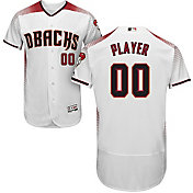 Majestic Men's Full Roster Authentic Arizona Diamondbacks Flex Base Home White On-Field Jersey