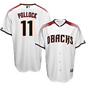 Majestic Men's Replica Arizona Diamondbacks A.J. Pollock #11 Cool Base Home White Jersey