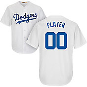 Majestic Men's Full Roster Cool Base Cooperstown Replica Los Angeles Dodgers White Jersey