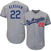 Product Image · Majestic Men s Authentic Los Angeles Dodgers Clayton  Kershaw  22 Road Grey Flex Base On- df2e35447c2