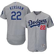72ad1d12e91 Product Image · Majestic Men s Authentic Los Angeles Dodgers Clayton Kershaw   22 Alternate Road Grey Flex Base On