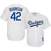 ec18e46f4 Product Image · Majestic Men s Replica Los Angeles Dodgers Jackie Robinson  Cool Base White Cooperstown Jersey