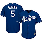 Product Image · Majestic Men s Replica Los Angeles Dodgers Corey Seager  5  Cool Base Alternate Royal Jersey 9b39f3d94c7