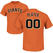 Majestic Men's Full Roster San Francisco Giants Orange T-Shirt