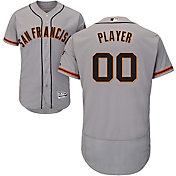 Majestic Men's Full Roster Authentic San Francisco Giants Flex Base Road Grey On-Field Jersey