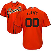 Majestic Men's Full Roster Cool Base Replica San Francisco Giants Alternate Orange Jersey