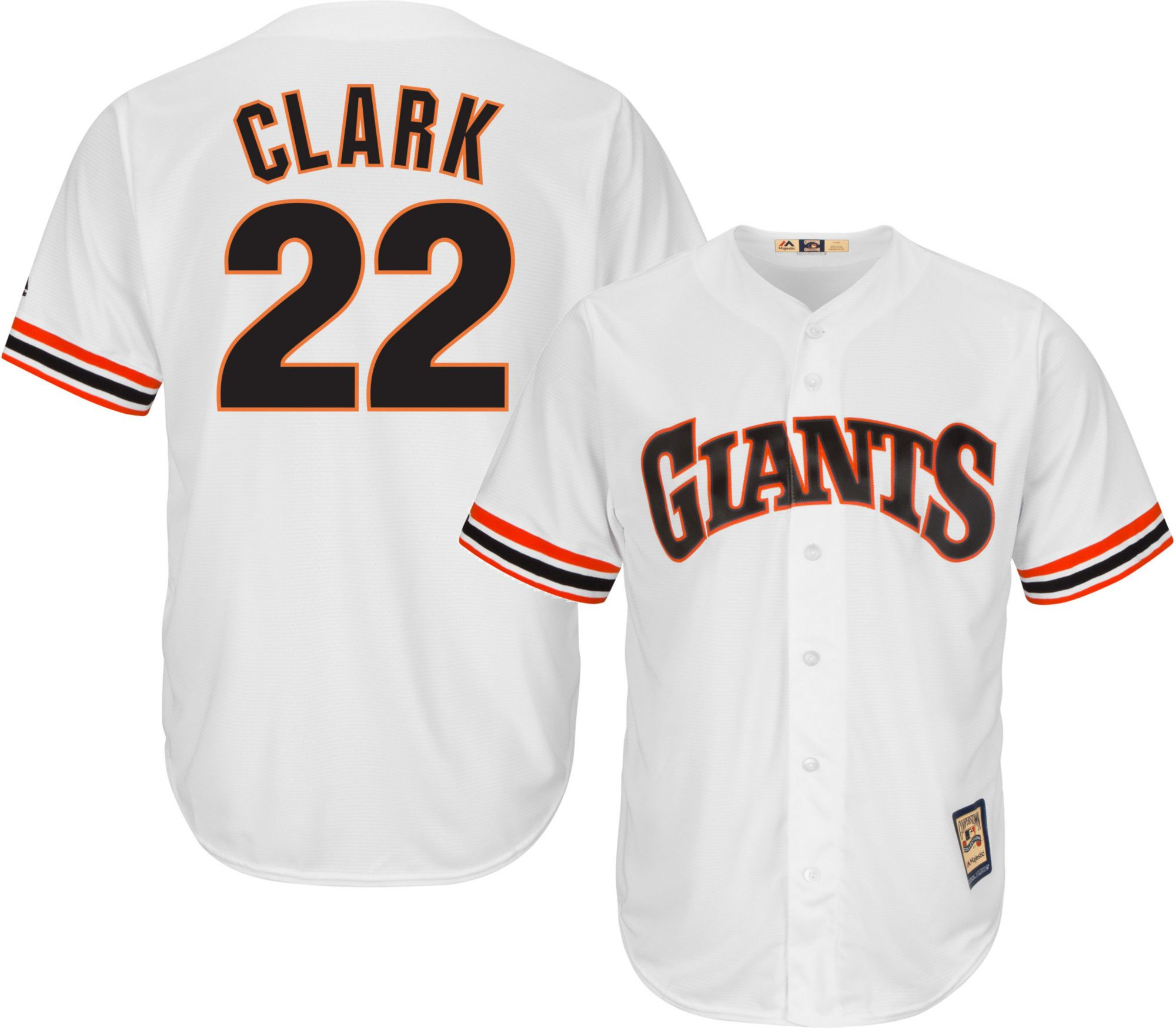 8a5f4065c86 ... buy majestic mens replica san francisco giants will clark cool base  white cooperstown jersey ae620 b61a0